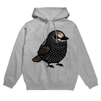Chubby Bird ムクドリ Hoodies
