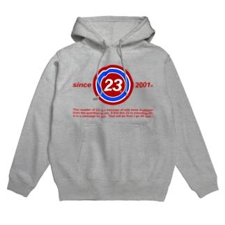 23Whisper_square Hoodies