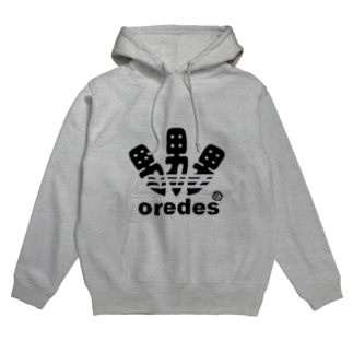 oredes.(俺です)ロゴプリントパーカー Hoodies