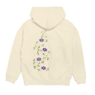 鉄扇の花 Hoodies