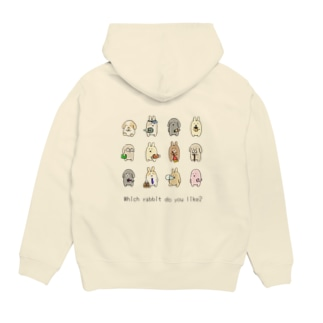 Which rabbit do you like? Hoodies