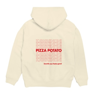 KAWAiiNONI PIZZA POTATO Hoodies
