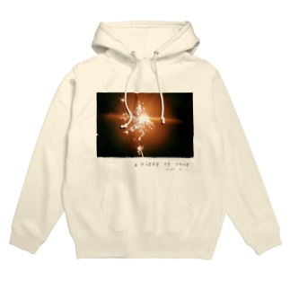 a piece of love Hoodies