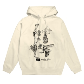 Kumanbachi , Bone of house & Spring plants Hoodies
