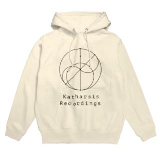 Katharsis Black Logo Hoodies