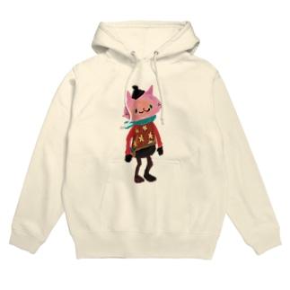 ねこびとさん(Sakura) Hoodies