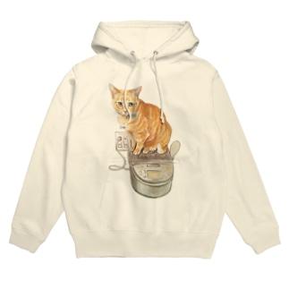 Keep cats warm Hoodie