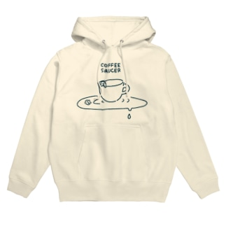 COFFEE SAUCER Hoodies