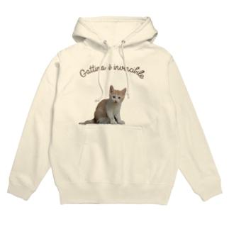 Gattino è invincibile(子猫は無敵) Hoodie
