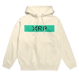 XRP ロゴパーカー Hoodies