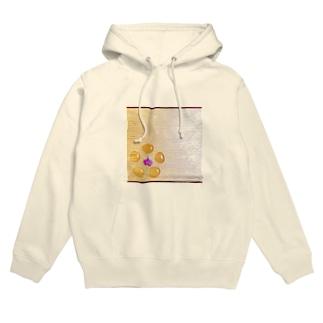 ginkgo sugar flower Hoodies