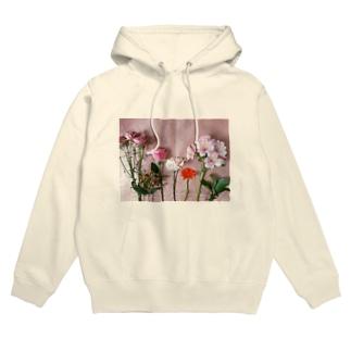 fleur,Amélie Hoodies