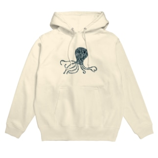蛸 Hoodies