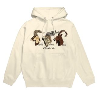 Wild goat in the world Hoodies