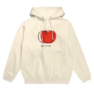 りんごちゃん Hoodies