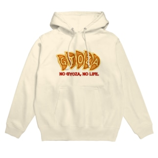 NO 餃子, NO LIFE. Hoodies