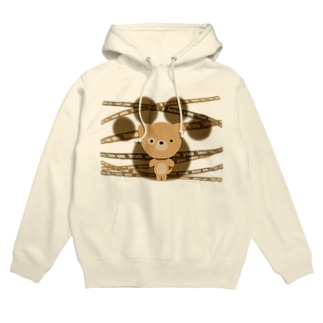 The stuffed toy of the dog Hoodies