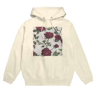 rose flower goth Hoodies