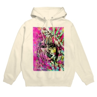 Crazymelon Londonの壊れたハート Broken my heart Hoodies