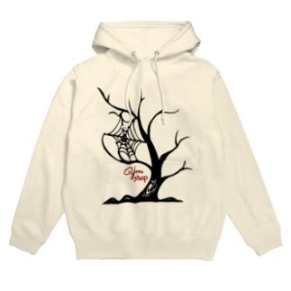 tree of Halloween Hoodies