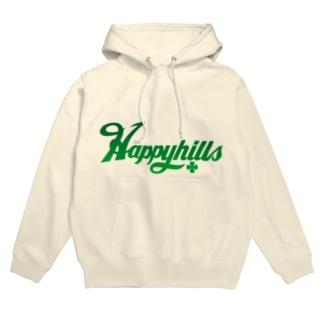 Happyhillsふくおか(緑) Hoodies