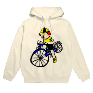 とんちピクルスのウクちゃんと自転車 Hoodies