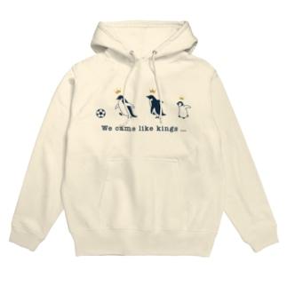 Penguins (ネイビー) Hoodies