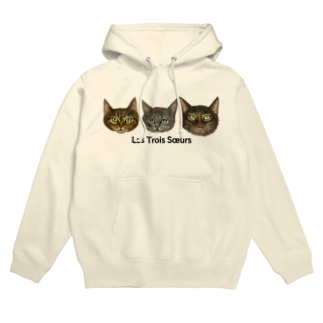 Washiemon and Ai-chan's ShopのLes Trois Sœurs Hoodies