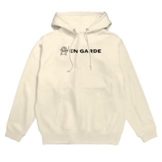 えすくりEN GARDE Hoodies