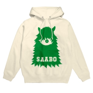 SAABO_FUR_ForestMan_L_G Hoodies