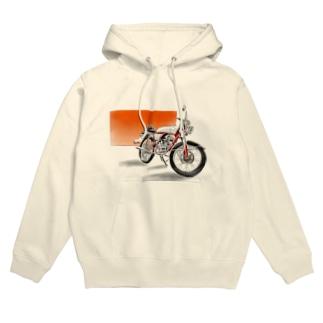 クラシカルバイク Hoodies