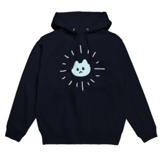 サンシャイン猫ブルー フーディ