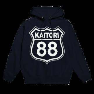 k-lab(ケイラボ)のKAITORI 88 (W) フーディ