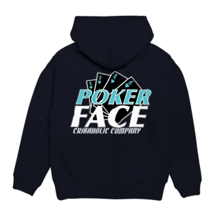 "CRIBAHOLIC ""Poker Face"" Hoodies"