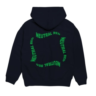 neutral red ロゴパーカー Hoodies