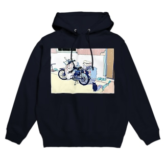 Father's motorcycle Hoodies