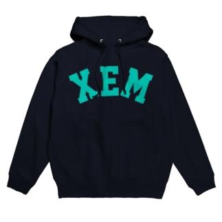 XEM(グリーン) Hoodies