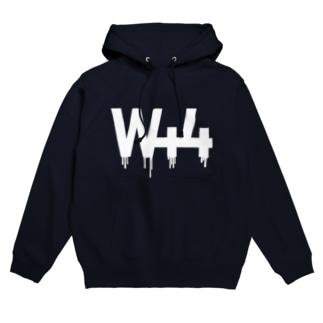 W44(WhiteBase) Hoodies