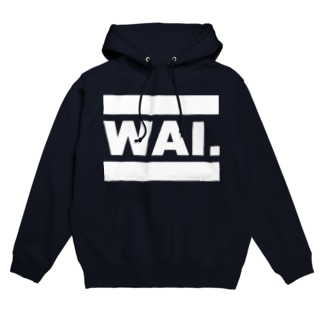 WAIパーカー(全16色) フーディ