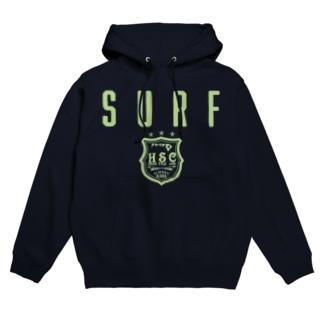 SURF EMBLEM Hoodies