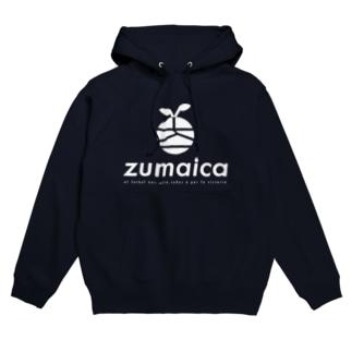 zumaica  white Hoodies