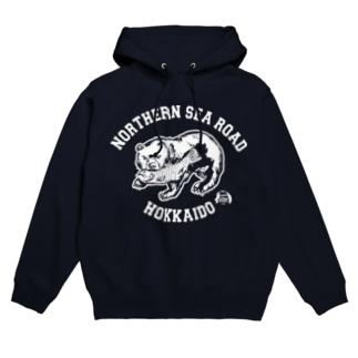 北海道  熊の置物 Hoodies