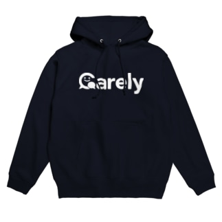 Carelyロゴ(白) Hoodies