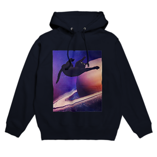 necovepp in da shoppのspace is the place Hoodies