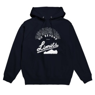 GO BEYOND YOUR LIMITS Hoodies