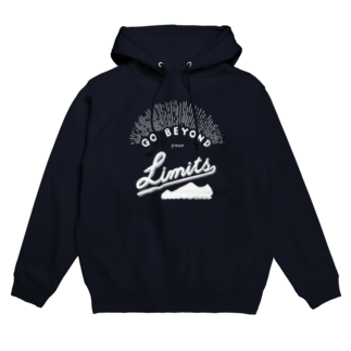 sampopのGO BEYOND YOUR LIMITS Hoodies
