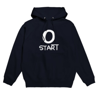 0 START(ゼロスタート) Hoodies
