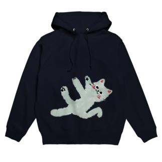 甘えんぼネコ【ゆめかわアニマル】 Hoodies