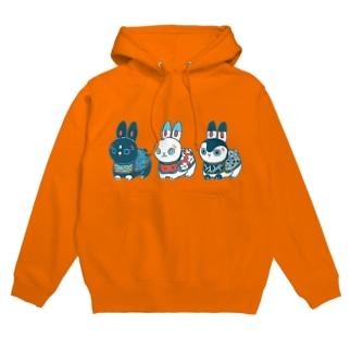 HARIKO兎  Hoodies