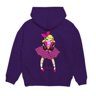 ロカビリーガールⅡ【pink】 Hoodies